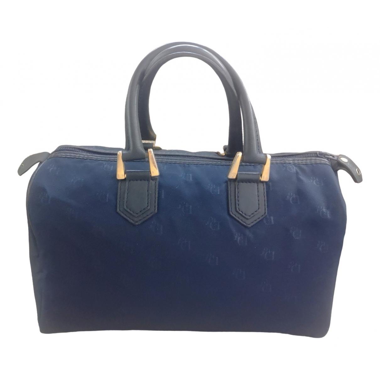 Dior \N Navy Cloth handbag for Women \N