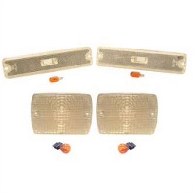 RT Off-Road Crystal Clear Parking Lamp and Sidemarker Lamp Kit - RT28010