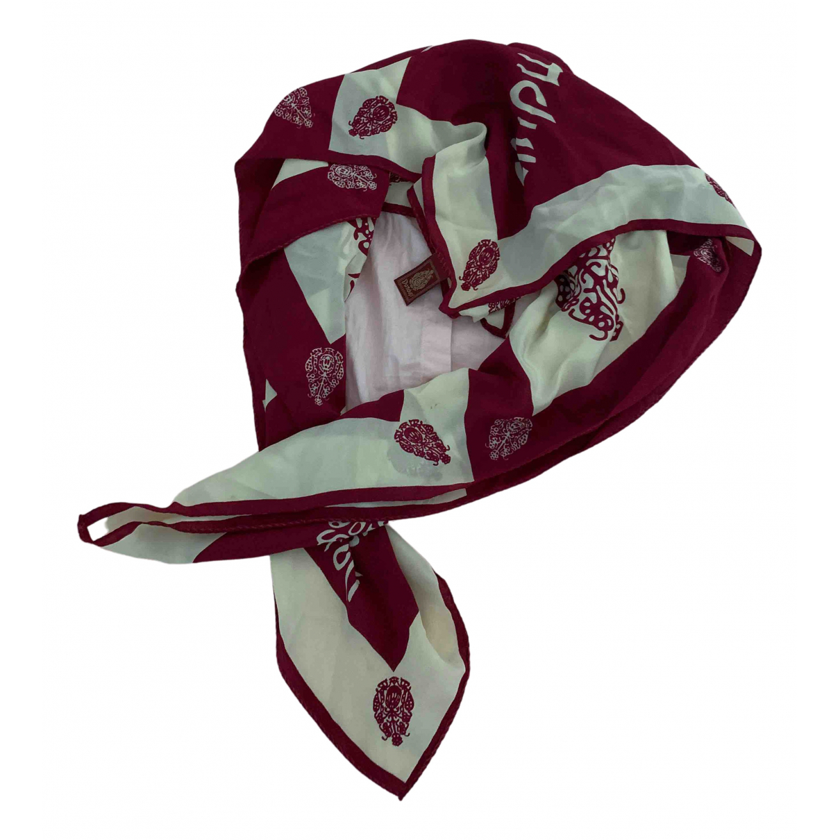 Dondup \N Burgundy Silk scarf for Women \N