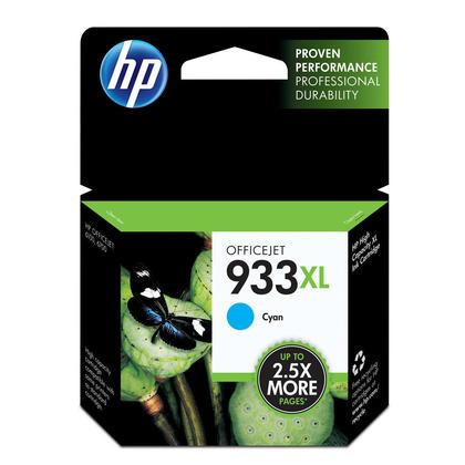 HP 933XL CN054AN Original Cyan Ink Cartridge High Yield