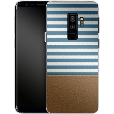 Samsung Galaxy S9 Plus Silikon Handyhuelle - Nautical von caseable Designs