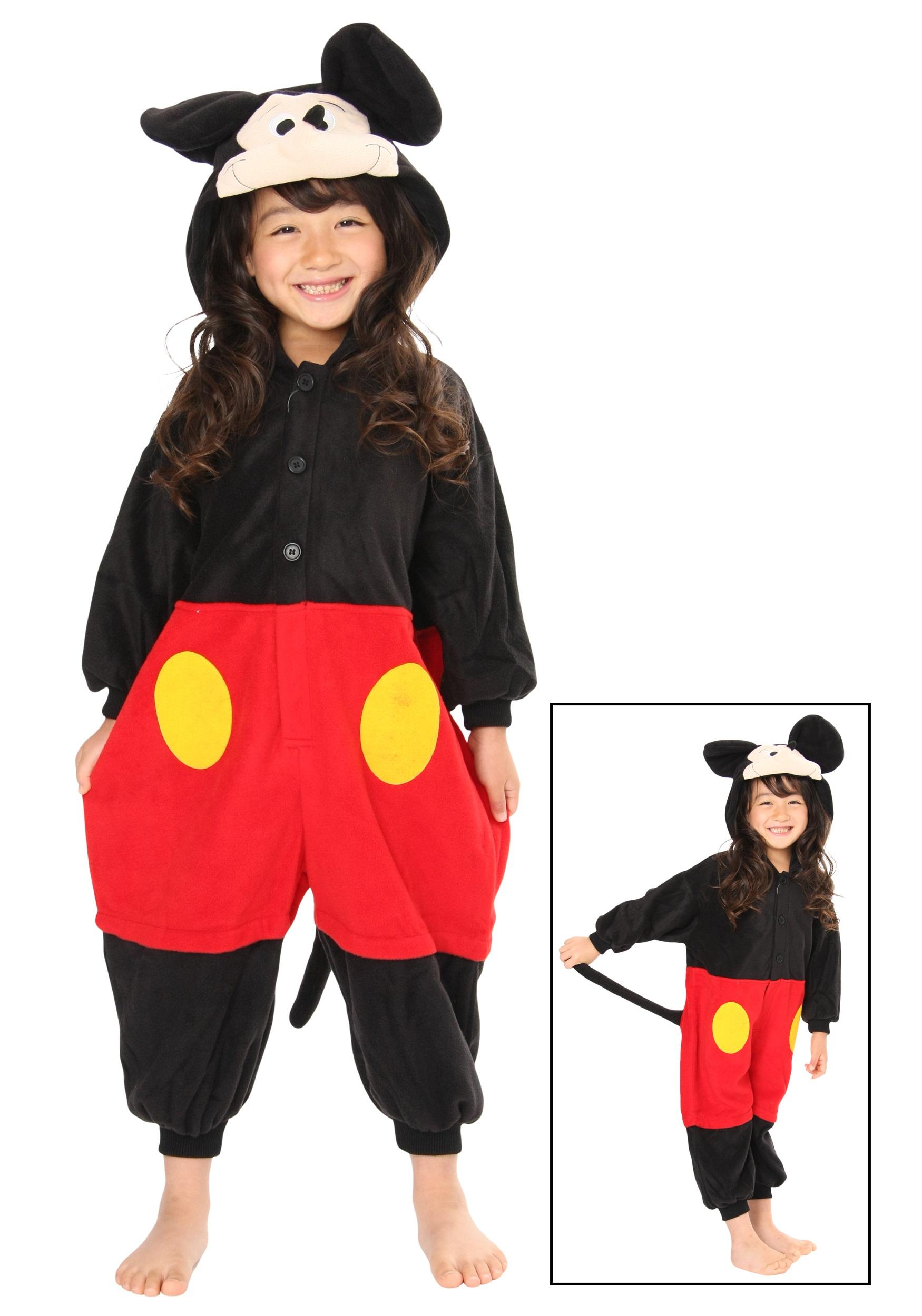 Disney Mickey Mouse Kigurumi Pajama for Kids