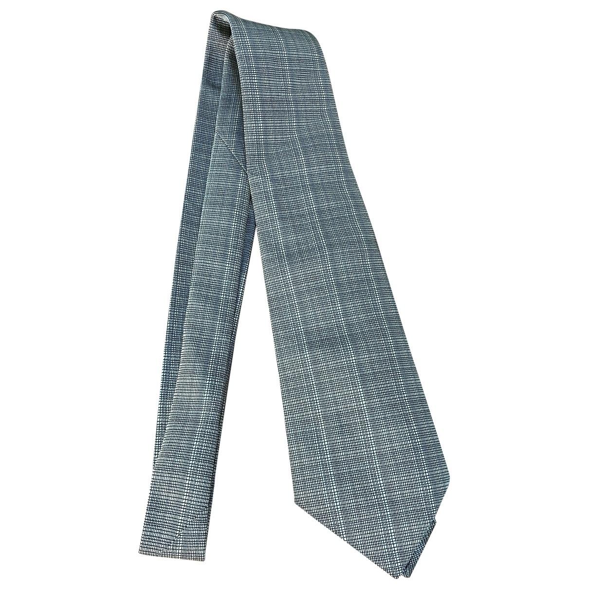 Hermès \N Grey Silk Ties for Men \N