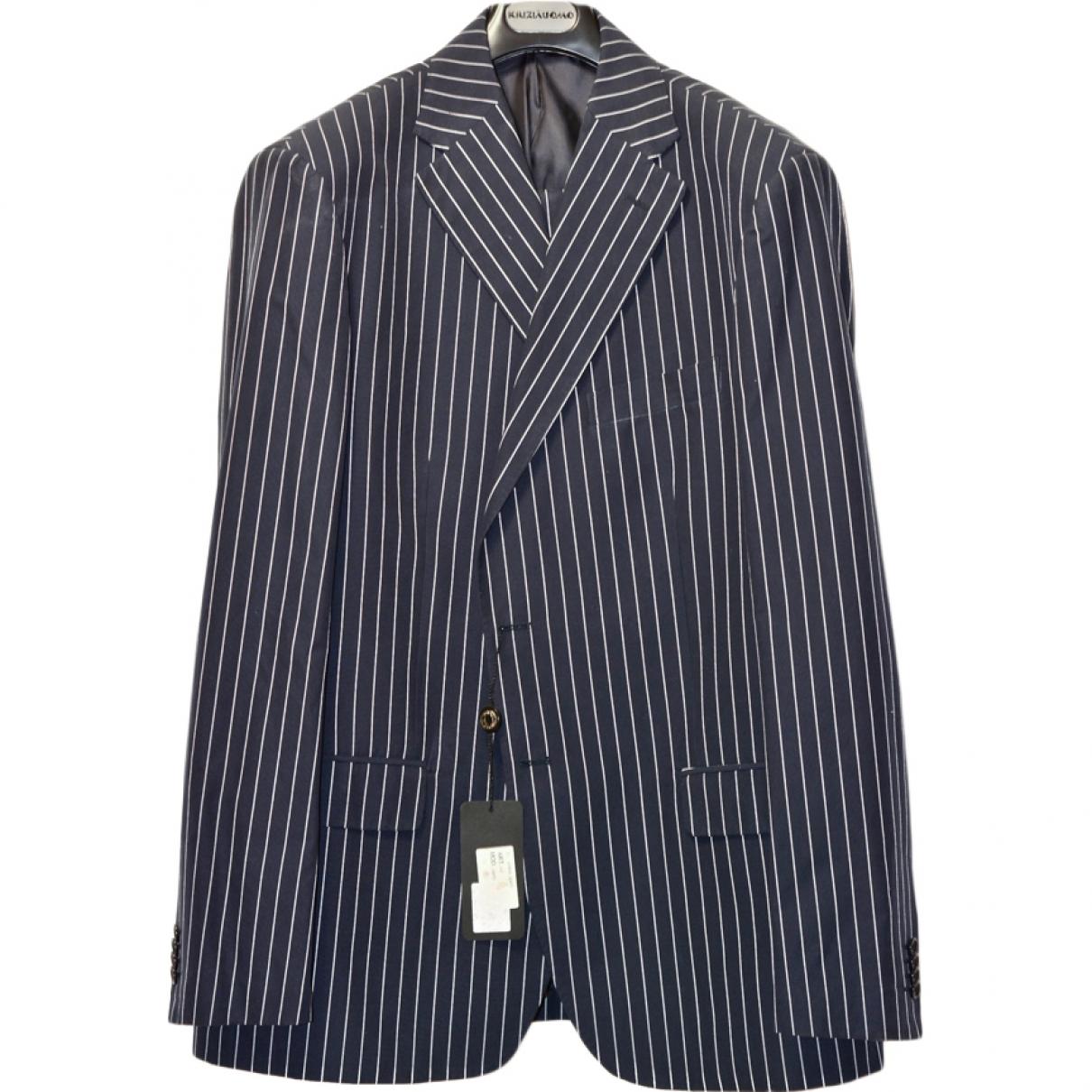 Krizia \N Blue Suits for Men 56 IT