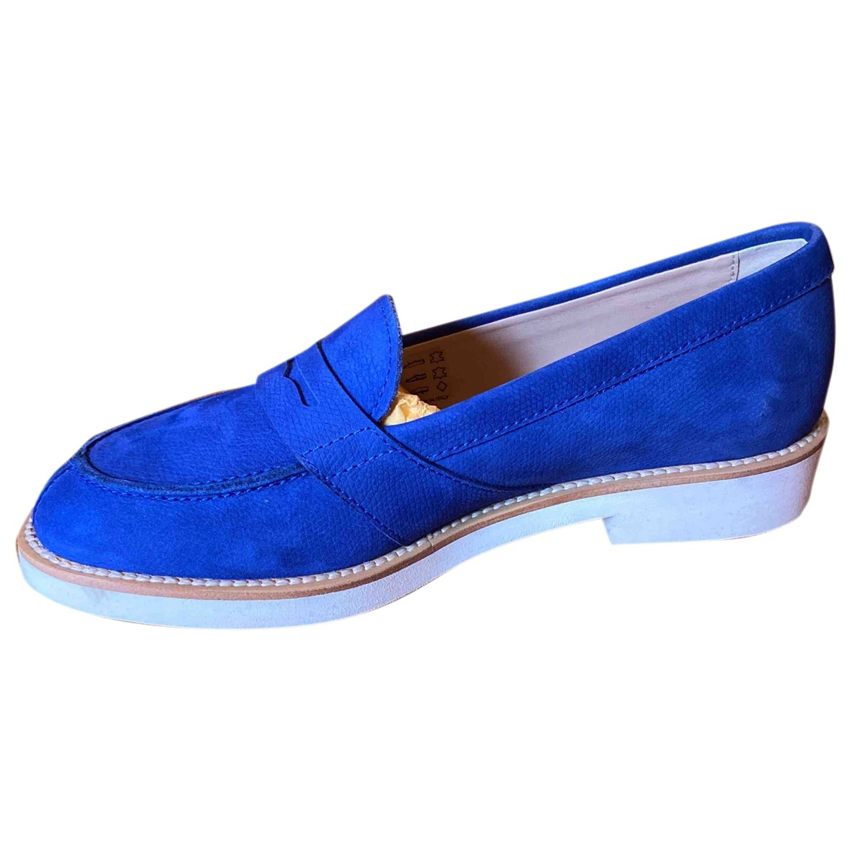 Tods \N Mokassins in  Blau Leder