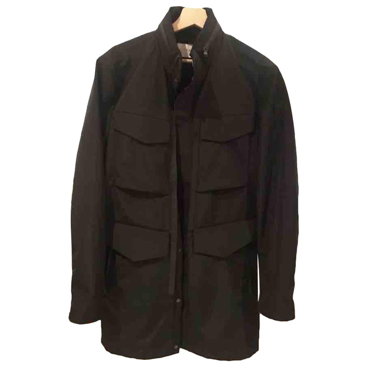 Ikks - Manteau   pour homme - noir