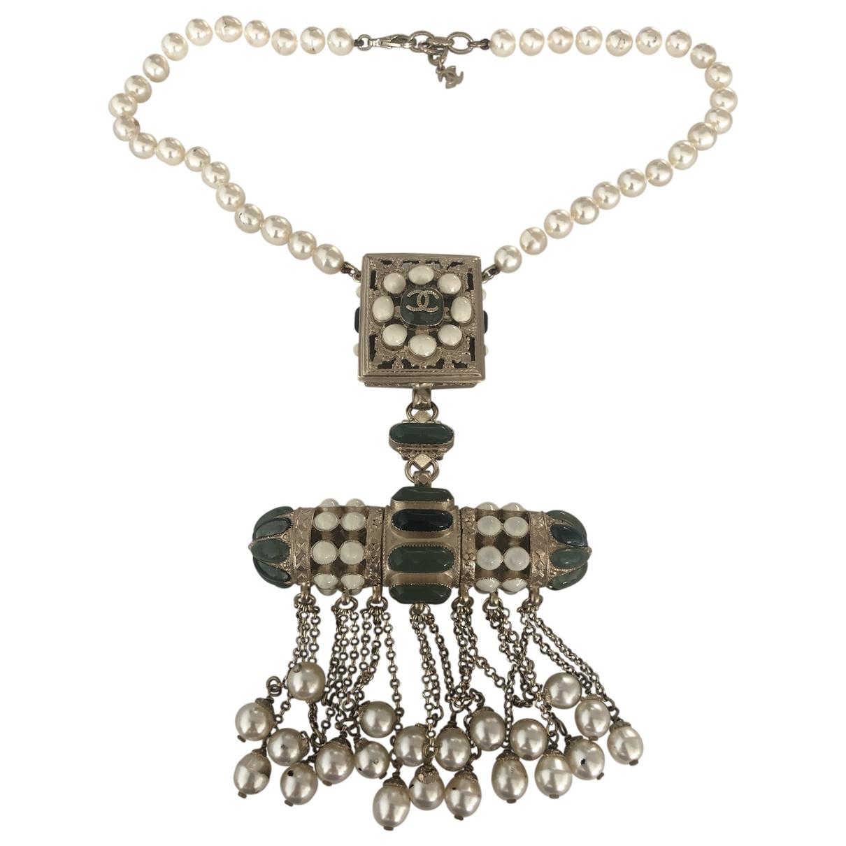 Chanel - Collier   pour femme en metal - multicolore