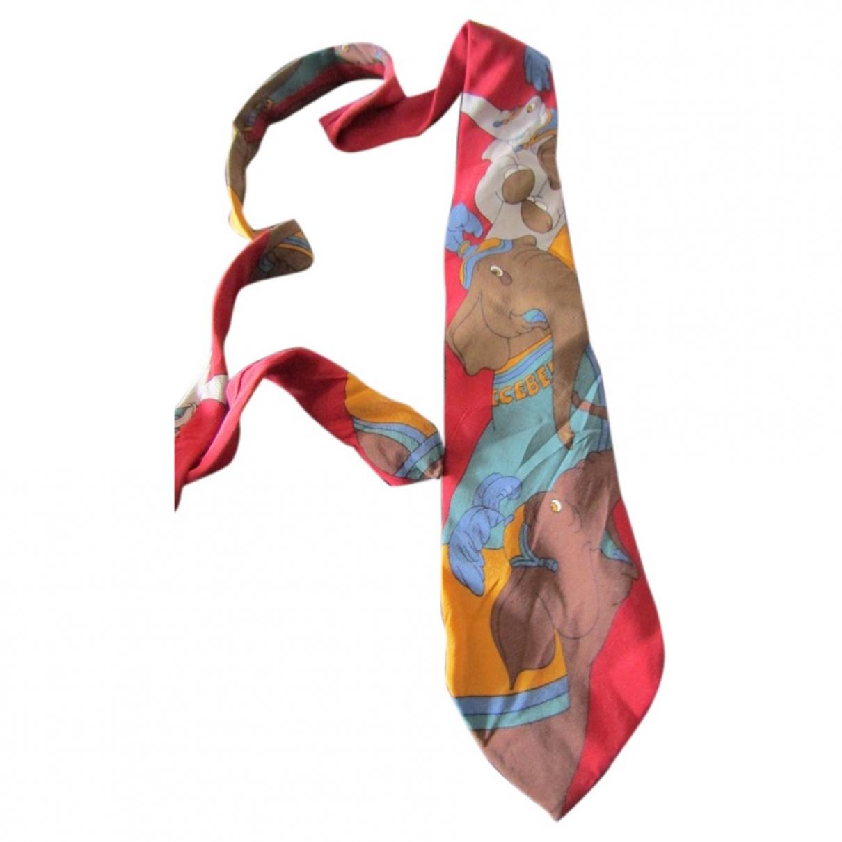 Iceberg \N Multicolour Silk Ties for Men \N
