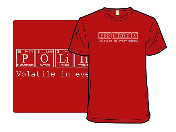 Elements Of Politics T Shirt