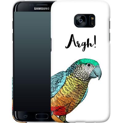 Samsung Galaxy S7 Edge Smartphone Huelle - Parrot Pirate von caseable Designs
