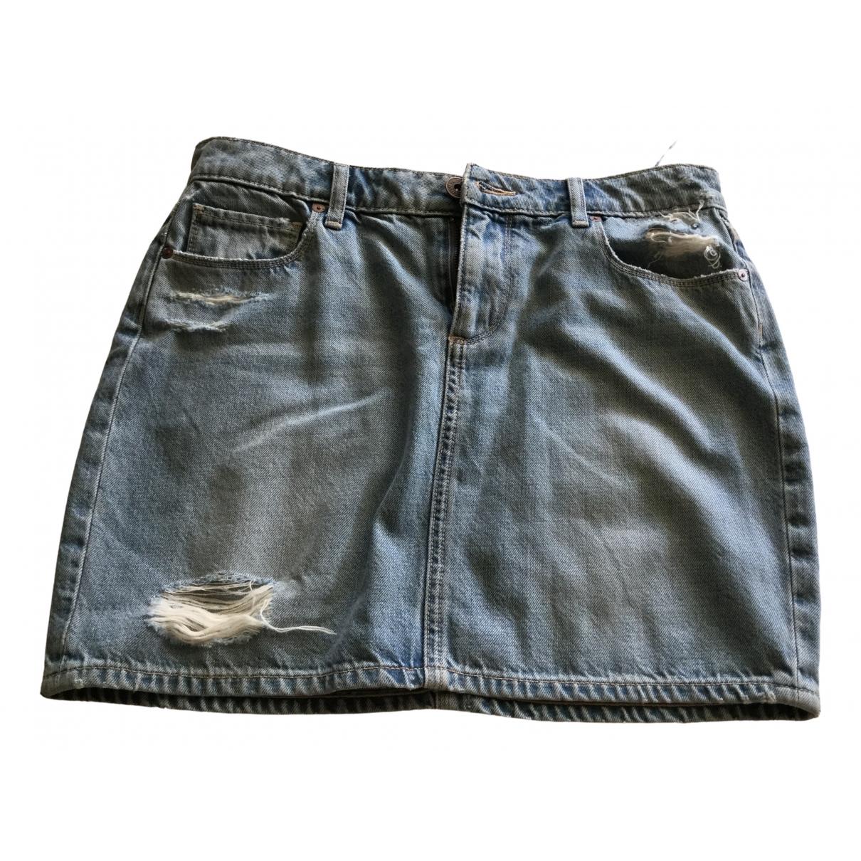 Paige Jeans \N Denim - Jeans skirt for Women 42 IT