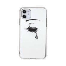 1pc Tearful Eye Pattern iPhone Case