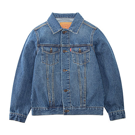 Levi's Big Boys Denim Jacket, X-large , Blue