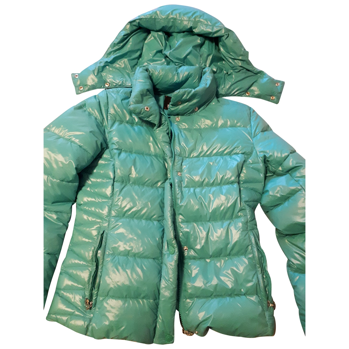 Non Signé / Unsigned \N Turquoise jacket for Women 42 IT