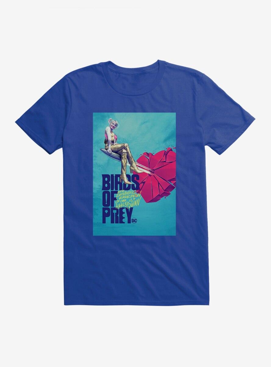 DC Comics Birds Of Prey Harley Quinn Breaking Hearts T-Shirt