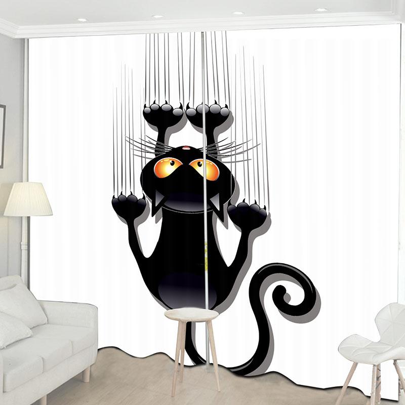 Beddinginn Creative Blackout Decoration Curtains/Window Screens