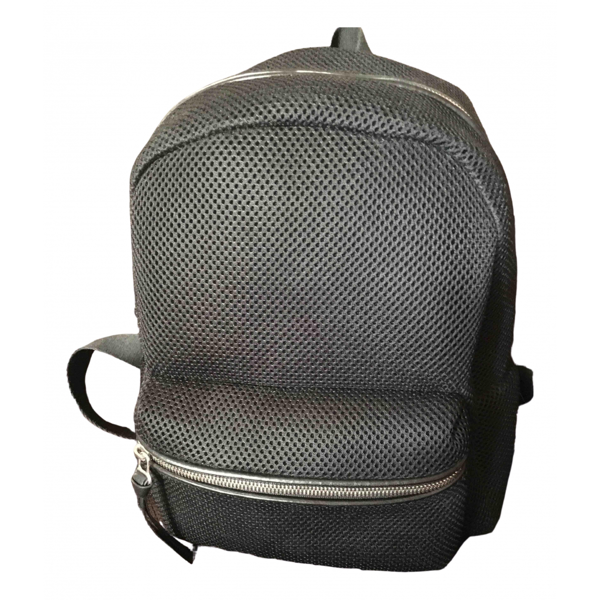 Mm6 \N Black backpack for Women \N