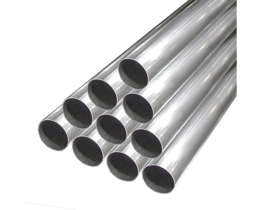 Stainless Works 3.5SS-4 Tubing Straight 3-1/2in Diameter .065 Wall 4ft