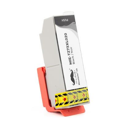 Epson 273 T273XL020 cartouche d'encre compatible noire haute capacit� - Moustache�