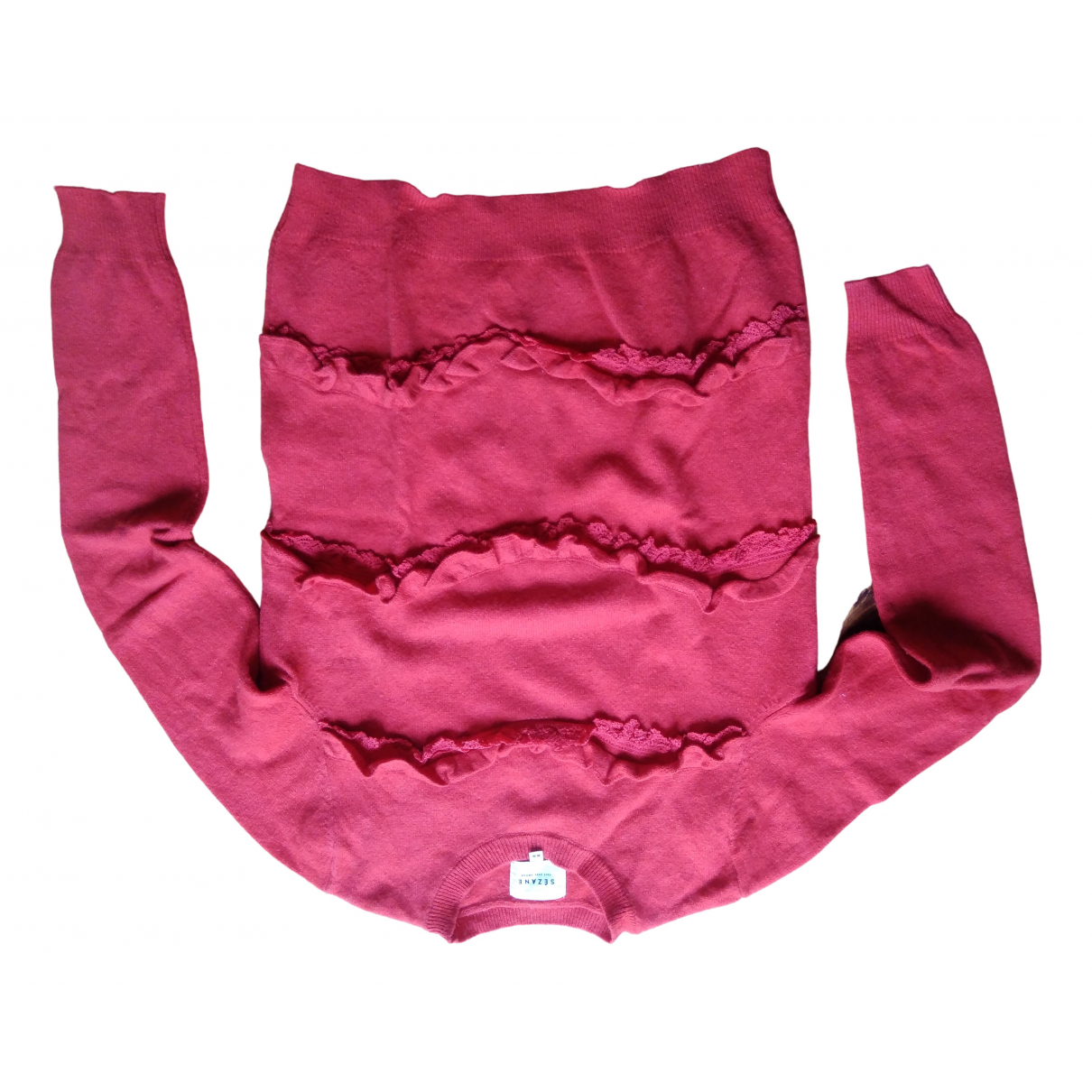 Sézane N Red Wool Knitwear for Women XS International