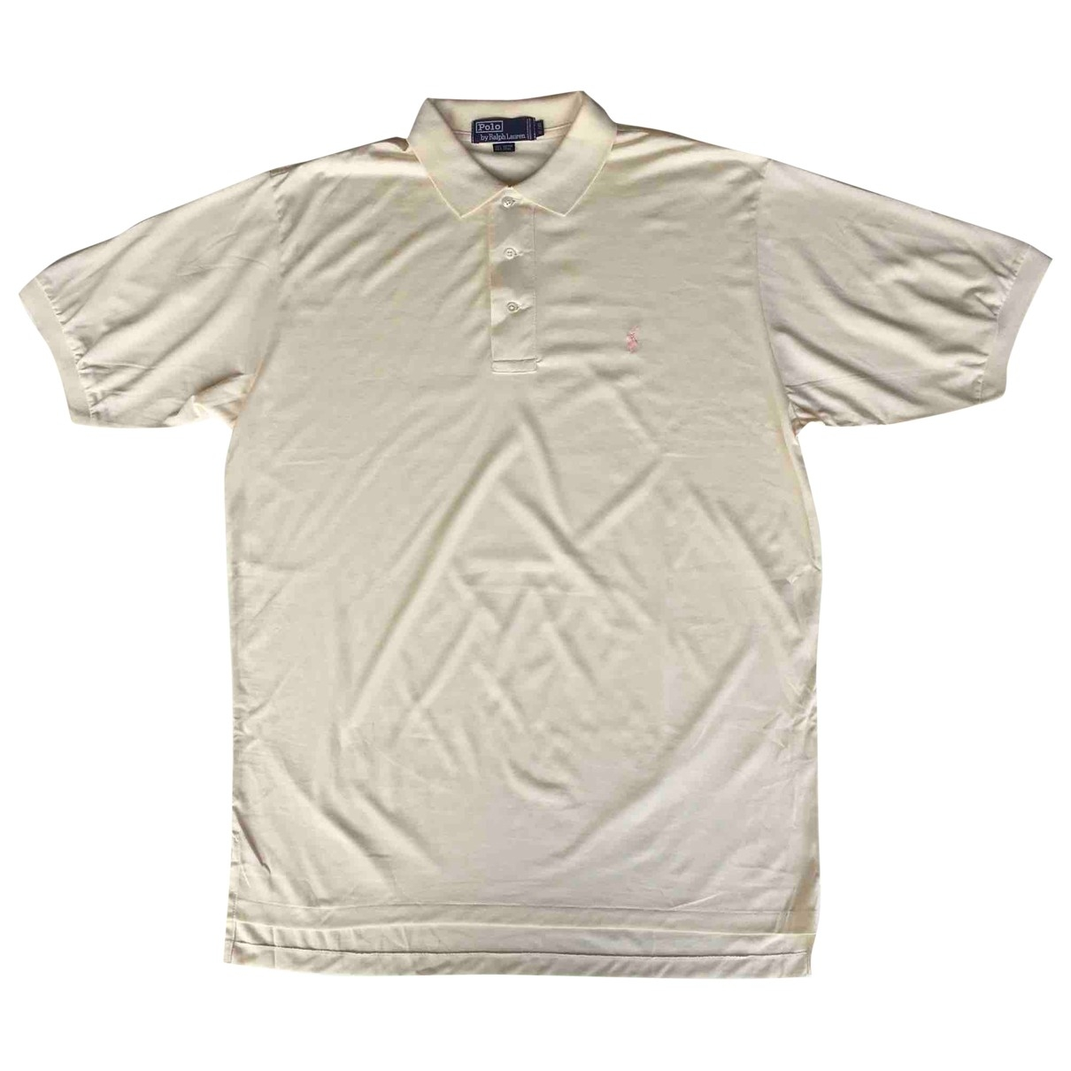 Polo Ralph Lauren Polo classique manches courtes Poloshirts in  Ecru Baumwolle