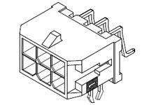 Molex , 43045, 24 Way, 2 Row, Right Angle PCB Header (200)
