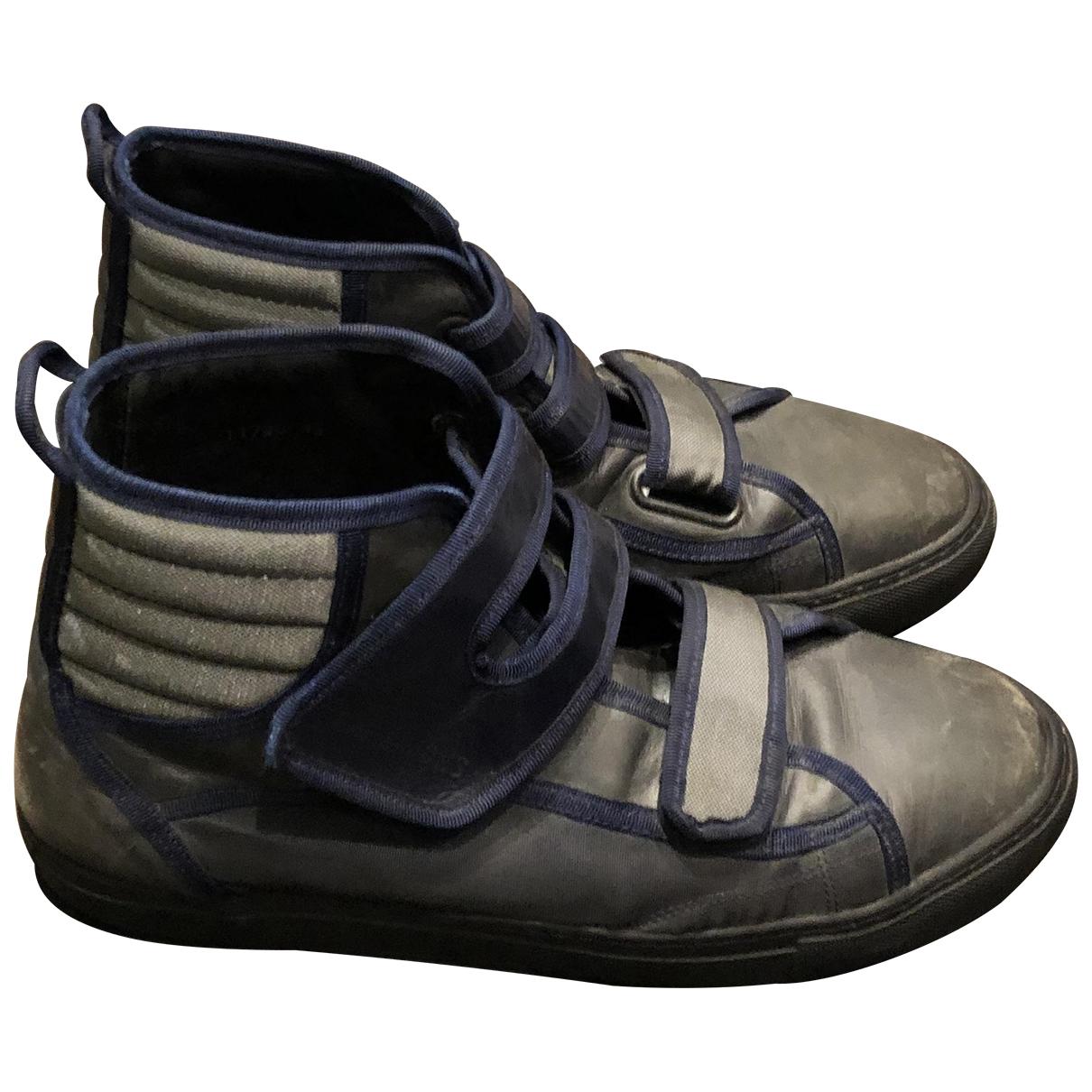 Raf Simons \N Sneakers in  Blau Leder