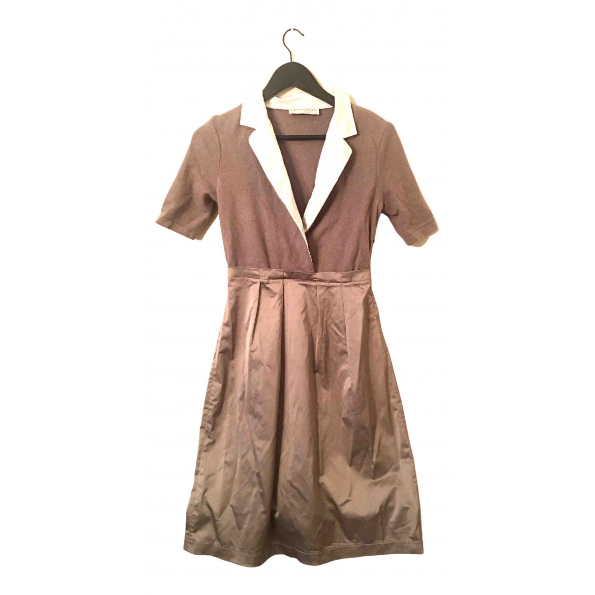 Fabiana Filippi \N Kleid in  Ecru Wolle