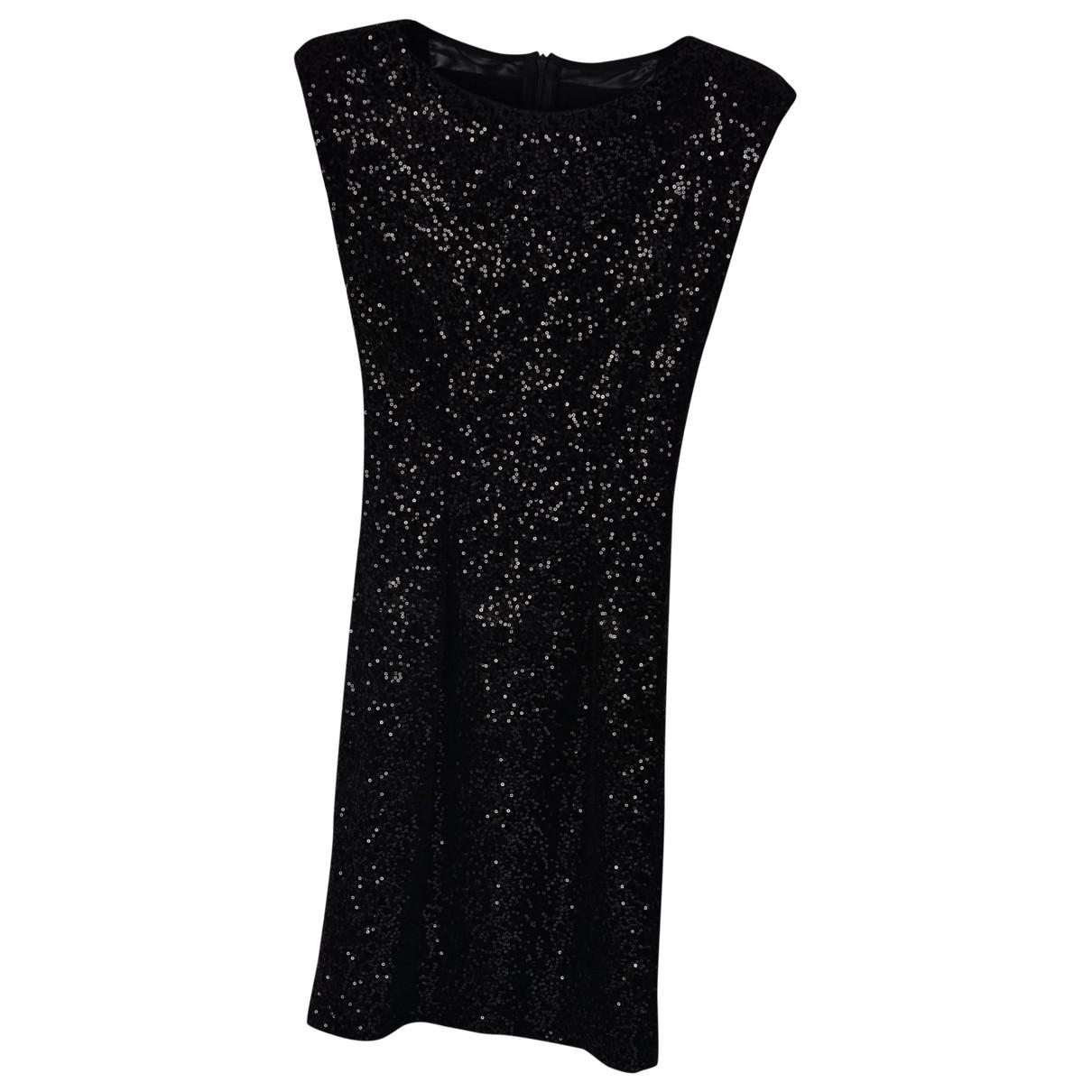 Alice & Olivia \N Kleid in  Schwarz Polyester