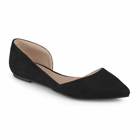 Journee Collection Womens Ester Ballet Flats, 8 Medium, Black