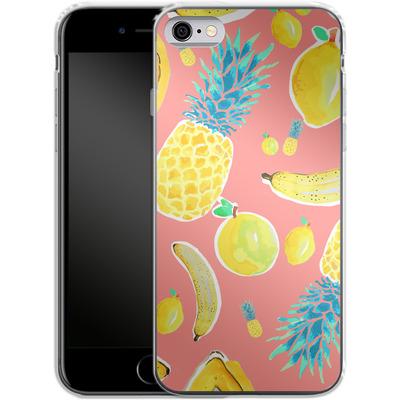 Apple iPhone 6s Silikon Handyhuelle - Fruit Love von Mukta Lata Barua