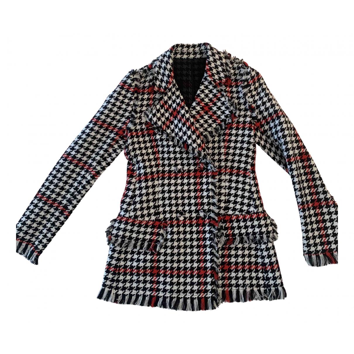 Msgm N Multicolour Cotton jacket for Women 38 IT