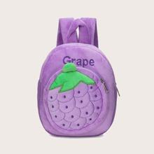 Girls Grape Design Backpack