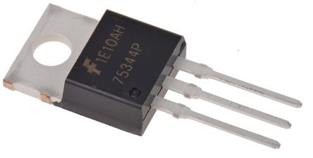 ON Semiconductor N-Channel MOSFET, 75 A, 55 V, 3-Pin TO-220AB  HUF75344P3 (5)