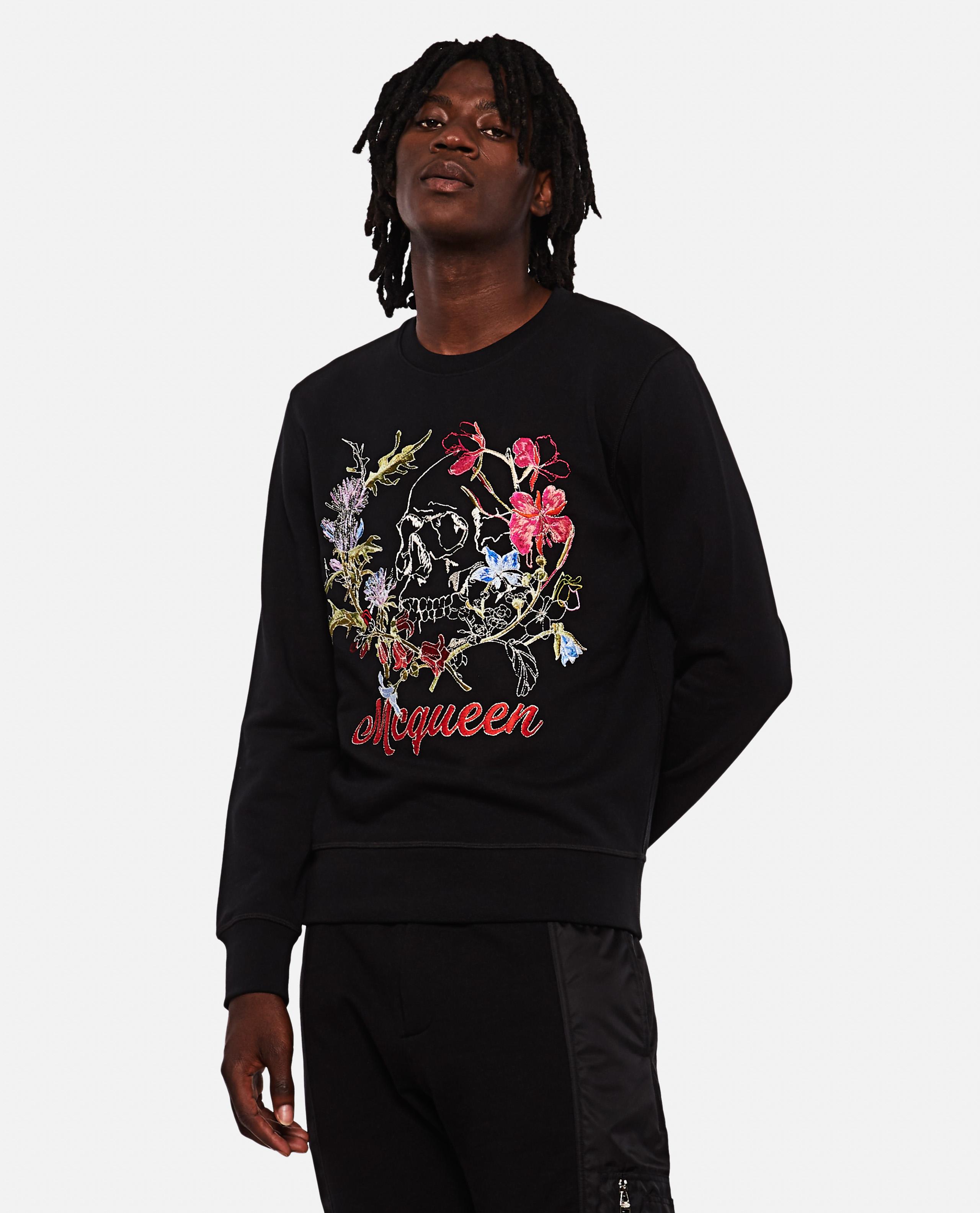 'Graffiti' cotton sweater