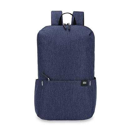 Trendy Solid Color Lightweight Water-Resistant Backpack - Xiaomi