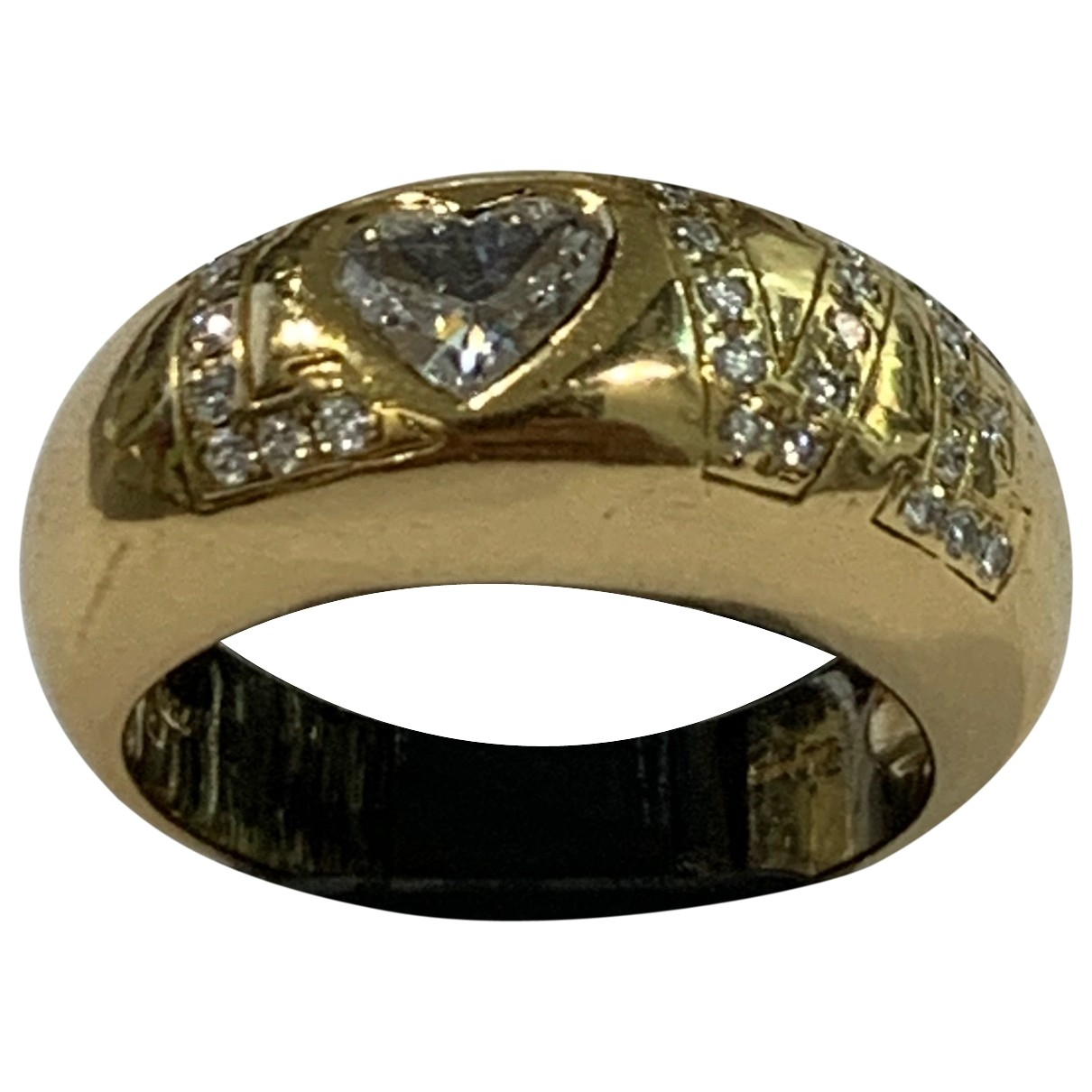Chopard Love Yellow Yellow gold ring for Women 52 MM
