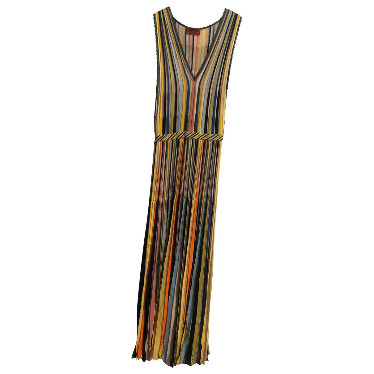 Missoni \N Kleid in  Bunt Polyester