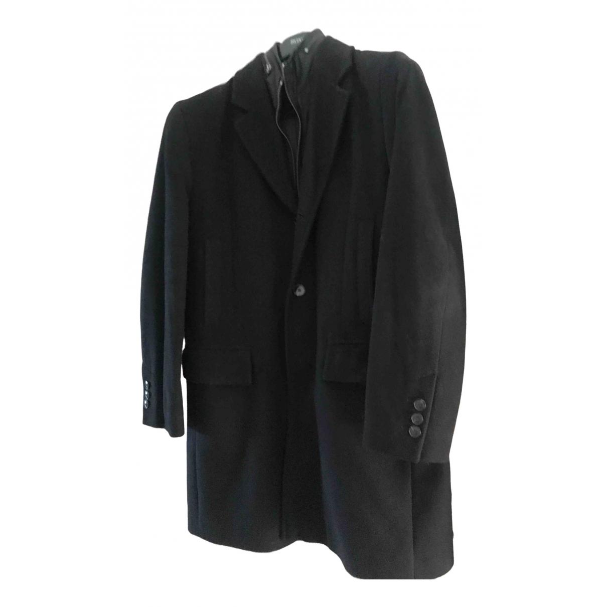 Boss - Vestes.Blousons   pour homme en laine - noir