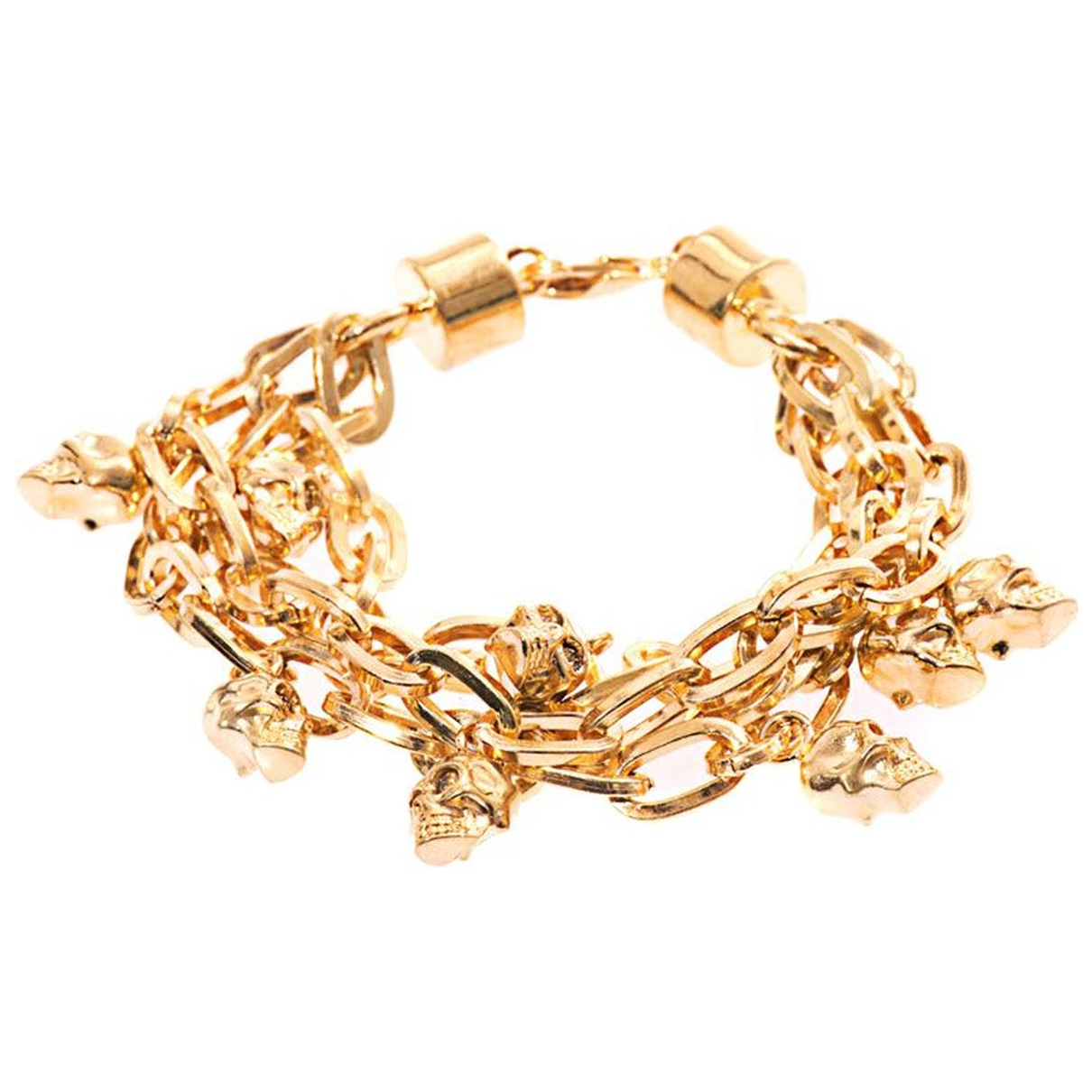 Alexander Mcqueen \N Gold gold and steel bracelet for Women \N