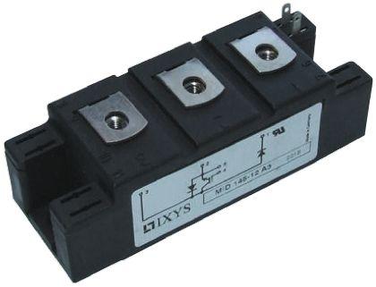 IXYS MDI145-12A3, Y4 M5 , N-Channel IGBT Module, 160 A max, 1200 V, Panel Mount