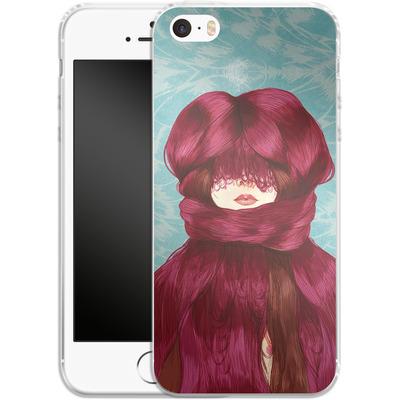 Apple iPhone SE Silikon Handyhuelle - Cold von Marcos Chin