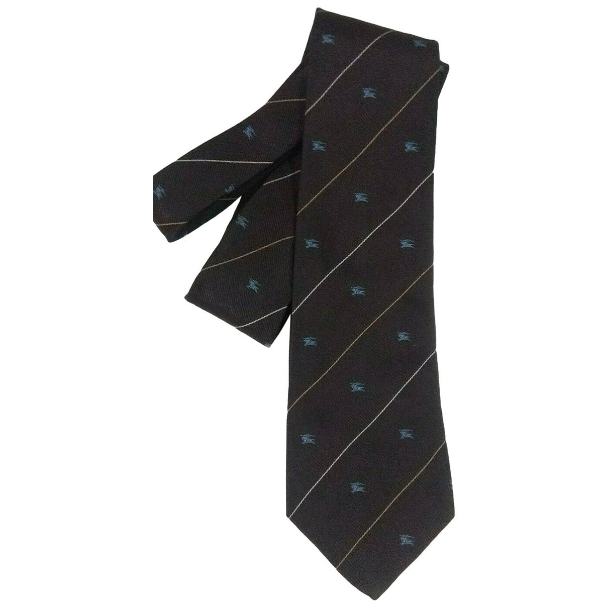Burberry N Grey Silk Ties for Men N