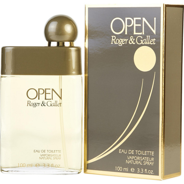 Open - Roger & Gallet Eau de toilette en espray 100 ML