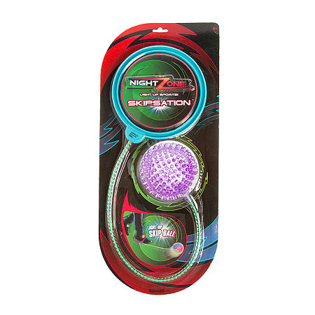Toysmith Nightzone Skipsation (Colors May Vary), One Size , Multiple Colors