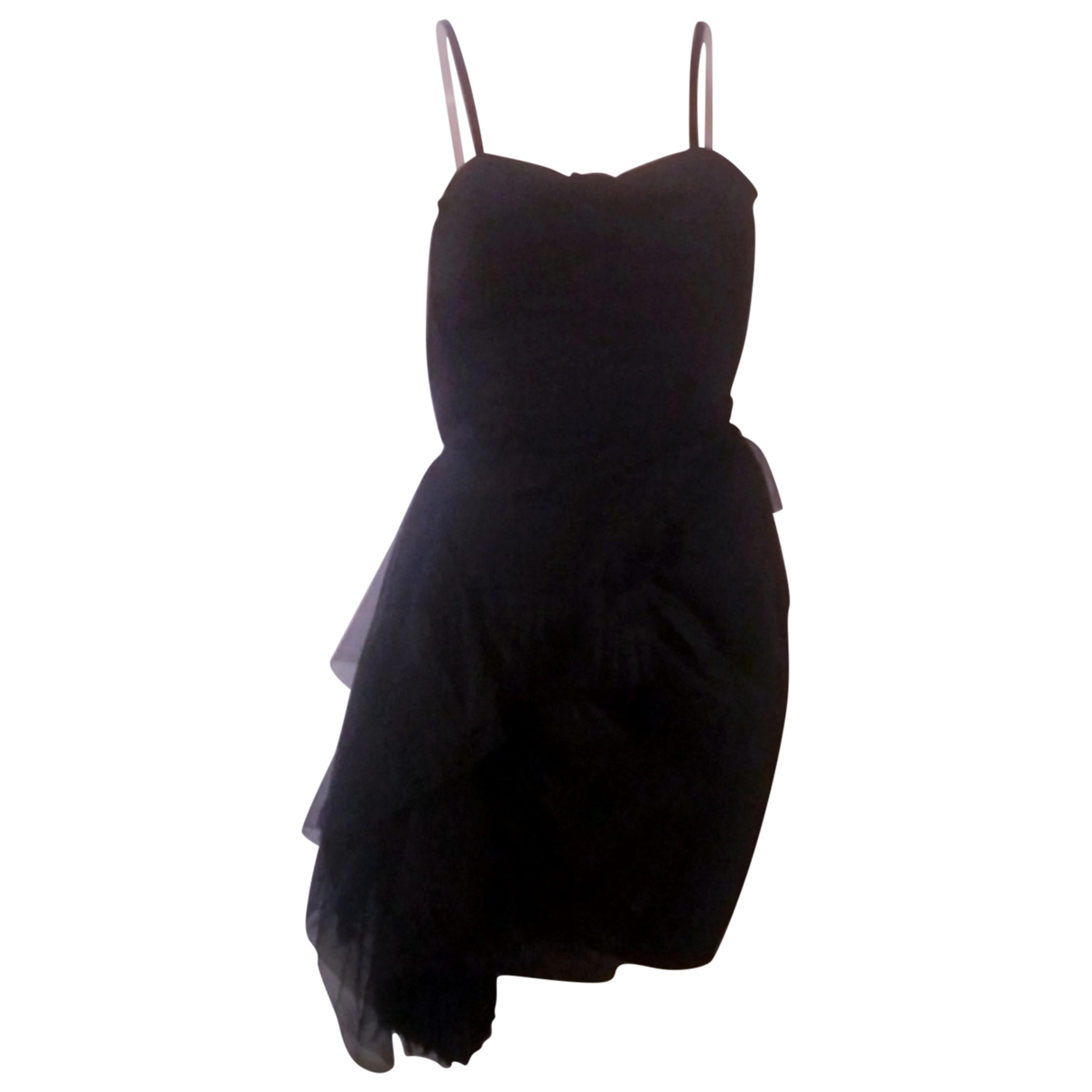 Non Signé / Unsigned \N Black Lace dress for Women 38 FR