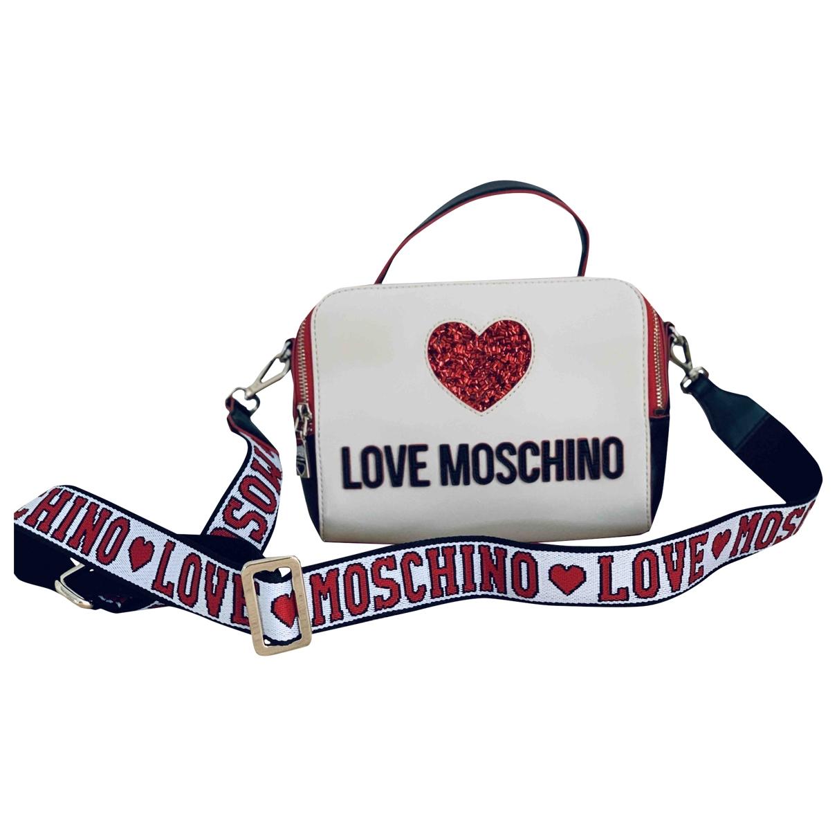 Bandolera de Cuero Moschino Love