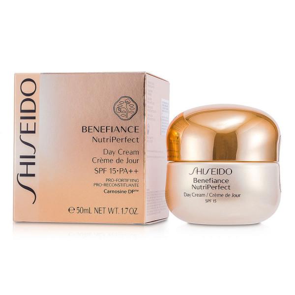 Benefiance NutriPerfect - Creme de Jour SPF 15 - Shiseido Crema 50 ML