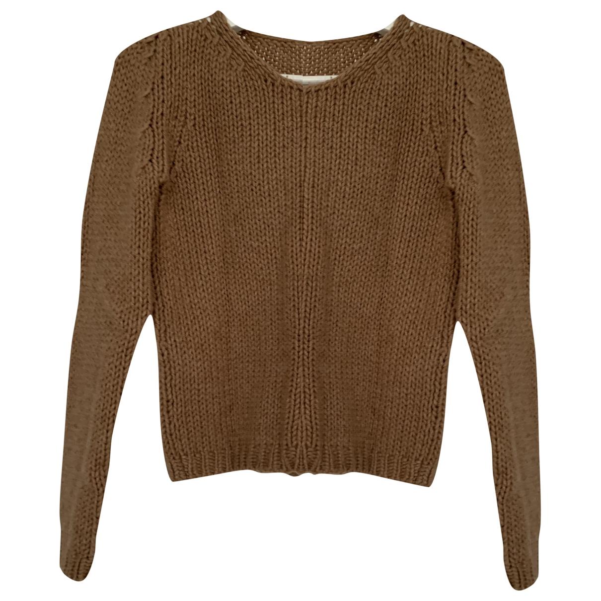 Dondup - Pull   pour femme en laine - beige