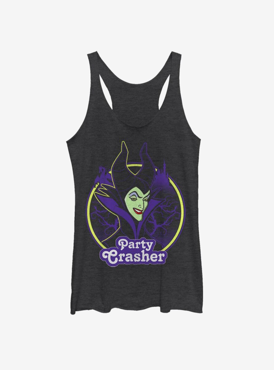 Disney Sleeping Beauty Maleficent Party Crasher Womens Tank Top